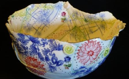 Memento Porcelain Printed bowl