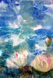 Waterlilies W/c $450